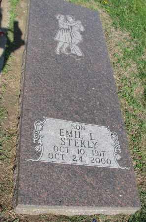 STEKLY, EMIL L. - Bon Homme County, South Dakota | EMIL L. STEKLY - South Dakota Gravestone Photos