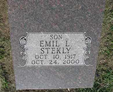 STEKLY, EMIL L. - Bon Homme County, South Dakota | EMIL L. STEKLY - South Dakota Gravestone Photos
