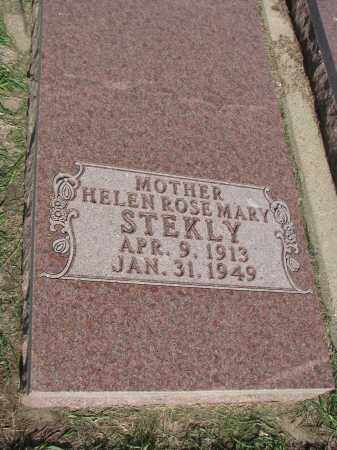 STEKLY, HELEN ROSEMARY - Bon Homme County, South Dakota | HELEN ROSEMARY STEKLY - South Dakota Gravestone Photos