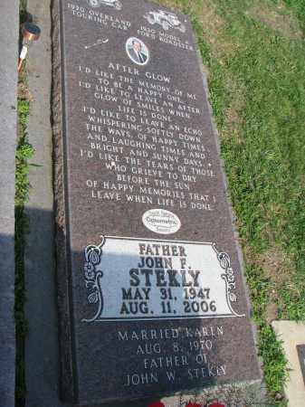 STEKLY, JOHN F. - Bon Homme County, South Dakota   JOHN F. STEKLY - South Dakota Gravestone Photos