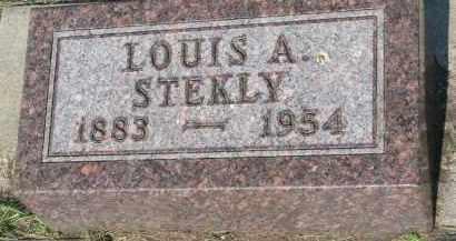 STEKLY, LOUIS A. - Bon Homme County, South Dakota | LOUIS A. STEKLY - South Dakota Gravestone Photos