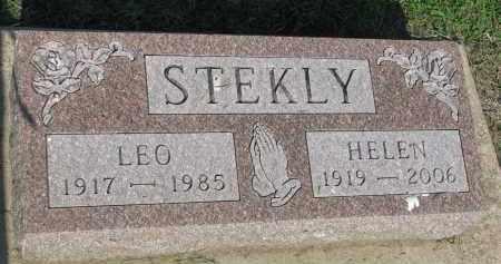 STEKLY, LEO - Bon Homme County, South Dakota   LEO STEKLY - South Dakota Gravestone Photos