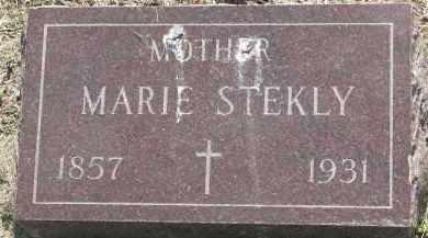 STEKLY, MARIE - Bon Homme County, South Dakota | MARIE STEKLY - South Dakota Gravestone Photos