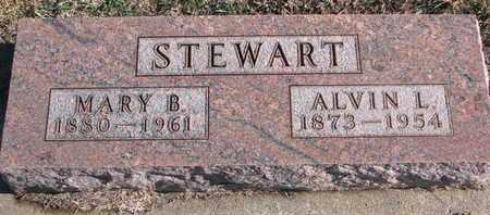 STEWART, ALVIN L. - Bon Homme County, South Dakota | ALVIN L. STEWART - South Dakota Gravestone Photos