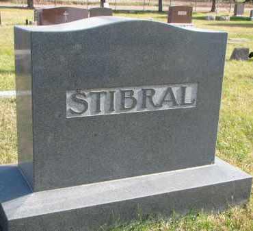 STIBRAL, FAMILY STONE - Bon Homme County, South Dakota | FAMILY STONE STIBRAL - South Dakota Gravestone Photos
