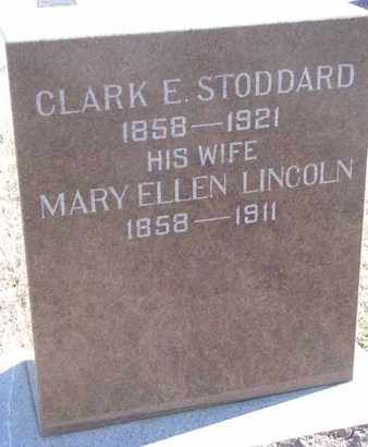 LINCOLN STODDARD, MARY ELLEN - Bon Homme County, South Dakota | MARY ELLEN LINCOLN STODDARD - South Dakota Gravestone Photos