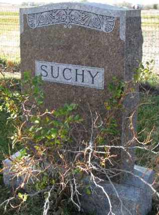 SUCHY, FAMILY STONE - Bon Homme County, South Dakota   FAMILY STONE SUCHY - South Dakota Gravestone Photos