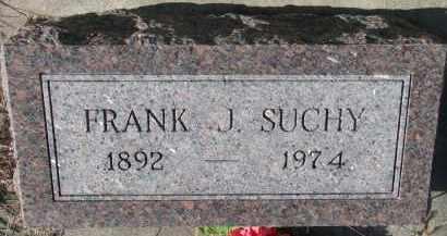 SUCHY, FRANK J. - Bon Homme County, South Dakota | FRANK J. SUCHY - South Dakota Gravestone Photos