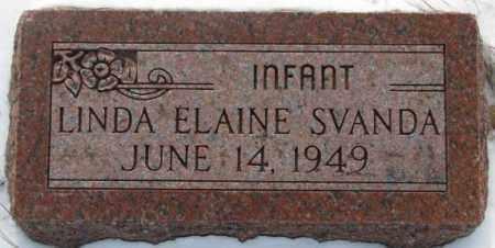 SVANDA, LINDA ELAINE - Bon Homme County, South Dakota   LINDA ELAINE SVANDA - South Dakota Gravestone Photos