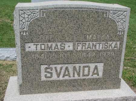 SVANDA, TOMAS - Bon Homme County, South Dakota | TOMAS SVANDA - South Dakota Gravestone Photos