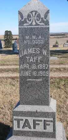 TAFF, JAMES W. - Bon Homme County, South Dakota | JAMES W. TAFF - South Dakota Gravestone Photos