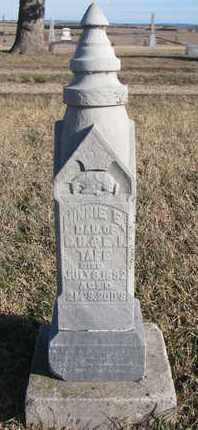 TAFF, MINNIE E. - Bon Homme County, South Dakota | MINNIE E. TAFF - South Dakota Gravestone Photos
