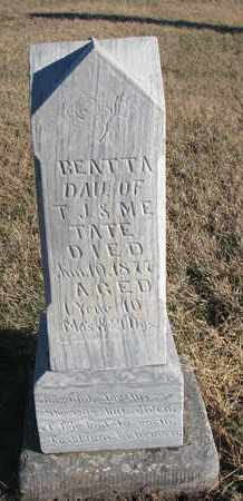 TATE, BEATTA - Bon Homme County, South Dakota | BEATTA TATE - South Dakota Gravestone Photos
