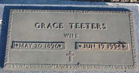 TEETERS, GRACE - Bon Homme County, South Dakota   GRACE TEETERS - South Dakota Gravestone Photos