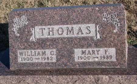 THOMAS, MARY F. - Bon Homme County, South Dakota | MARY F. THOMAS - South Dakota Gravestone Photos