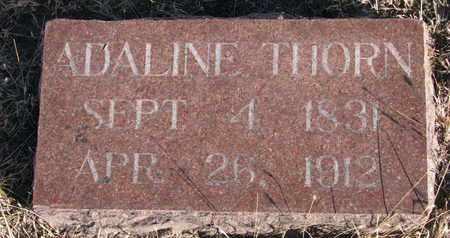 THORN, ADALINE - Bon Homme County, South Dakota | ADALINE THORN - South Dakota Gravestone Photos