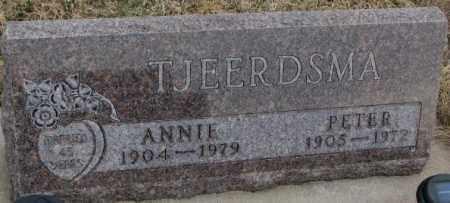 TJEERDSMA, ANNIE - Bon Homme County, South Dakota   ANNIE TJEERDSMA - South Dakota Gravestone Photos