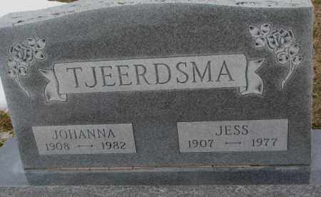 TJEERDSMA, JESS - Bon Homme County, South Dakota | JESS TJEERDSMA - South Dakota Gravestone Photos