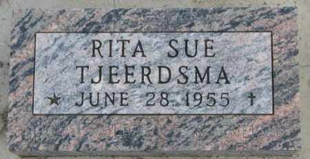 TJEERDSMA, RITA SUE - Bon Homme County, South Dakota | RITA SUE TJEERDSMA - South Dakota Gravestone Photos