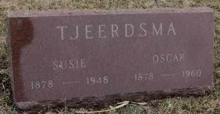 TJEERDSMA, OSCAR - Bon Homme County, South Dakota   OSCAR TJEERDSMA - South Dakota Gravestone Photos