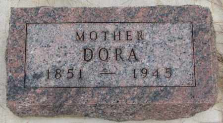 TOLSMA, DORA - Bon Homme County, South Dakota | DORA TOLSMA - South Dakota Gravestone Photos