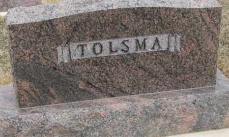 TOLSMA, PLOT - Bon Homme County, South Dakota | PLOT TOLSMA - South Dakota Gravestone Photos