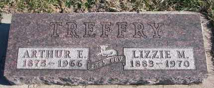 TREFFRY, LIZZIE M. - Bon Homme County, South Dakota | LIZZIE M. TREFFRY - South Dakota Gravestone Photos