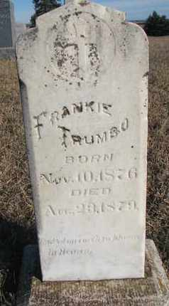 TRUMBO, FRANKIE - Bon Homme County, South Dakota | FRANKIE TRUMBO - South Dakota Gravestone Photos