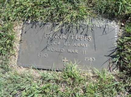 TUFFS, FRANK (MILITARY) - Bon Homme County, South Dakota | FRANK (MILITARY) TUFFS - South Dakota Gravestone Photos