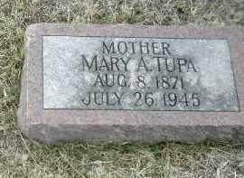 TUPA, MARY - Bon Homme County, South Dakota | MARY TUPA - South Dakota Gravestone Photos