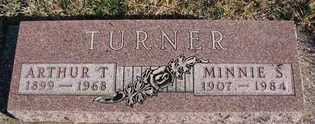 TURNER, ARTHUR T. - Bon Homme County, South Dakota | ARTHUR T. TURNER - South Dakota Gravestone Photos
