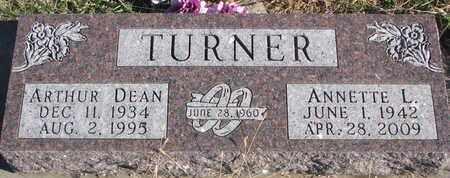 TURNER, ARTHUR DEAN - Bon Homme County, South Dakota | ARTHUR DEAN TURNER - South Dakota Gravestone Photos