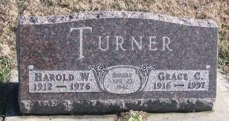 TURNER, GRACE C. - Bon Homme County, South Dakota | GRACE C. TURNER - South Dakota Gravestone Photos