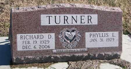 TURNER, PHYLLIS L. - Bon Homme County, South Dakota | PHYLLIS L. TURNER - South Dakota Gravestone Photos