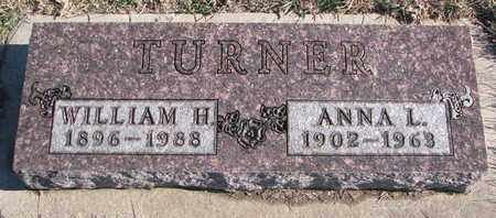 TURNER, WILLIAM H. - Bon Homme County, South Dakota | WILLIAM H. TURNER - South Dakota Gravestone Photos