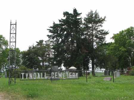 *TYNDALL, GATE - Bon Homme County, South Dakota   GATE *TYNDALL - South Dakota Gravestone Photos