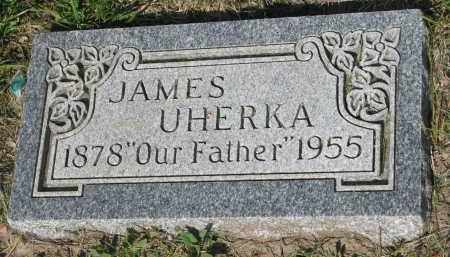 UHERKA, JAMES - Bon Homme County, South Dakota   JAMES UHERKA - South Dakota Gravestone Photos
