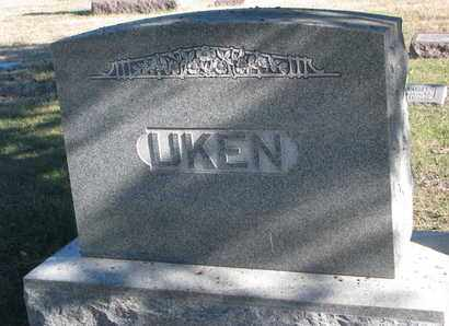 UKEN, FAMILY STONE - Bon Homme County, South Dakota   FAMILY STONE UKEN - South Dakota Gravestone Photos