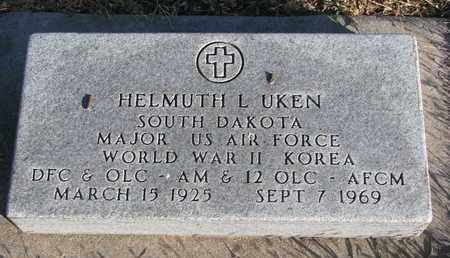 UKEN, HELMUTH L. - Bon Homme County, South Dakota   HELMUTH L. UKEN - South Dakota Gravestone Photos