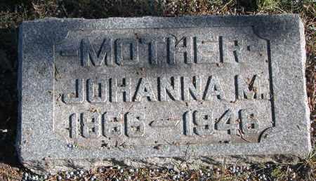 UKEN, JOHANNA M. - Bon Homme County, South Dakota | JOHANNA M. UKEN - South Dakota Gravestone Photos