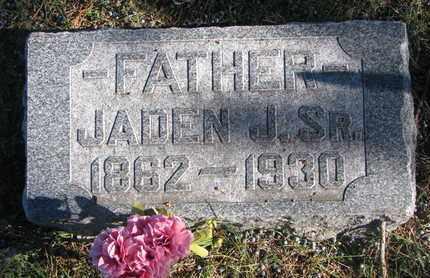 UKEN, JADEN J. SR. - Bon Homme County, South Dakota | JADEN J. SR. UKEN - South Dakota Gravestone Photos