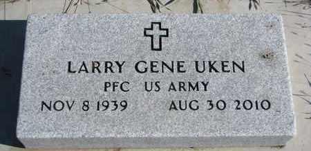 UKEN, LARRY GENE - Bon Homme County, South Dakota | LARRY GENE UKEN - South Dakota Gravestone Photos