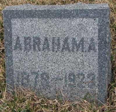 UNKNOWN, ABRAHAM A. - Bon Homme County, South Dakota | ABRAHAM A. UNKNOWN - South Dakota Gravestone Photos