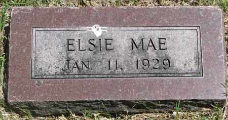 UNKNOWN, ELSIE MAE - Bon Homme County, South Dakota | ELSIE MAE UNKNOWN - South Dakota Gravestone Photos