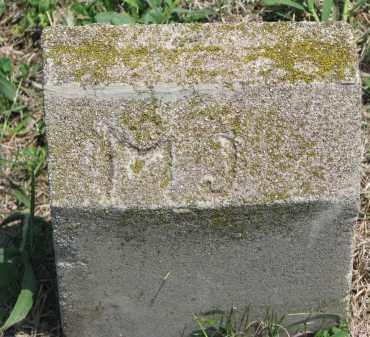 UNKNOWN, M.J. - Bon Homme County, South Dakota | M.J. UNKNOWN - South Dakota Gravestone Photos