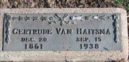 VAN HAITSMA, GERTRUDE - Bon Homme County, South Dakota | GERTRUDE VAN HAITSMA - South Dakota Gravestone Photos