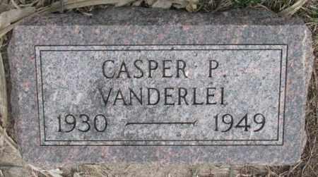VANDERLEI, CASPER P. - Bon Homme County, South Dakota | CASPER P. VANDERLEI - South Dakota Gravestone Photos