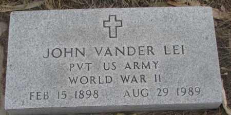 VANDERLEI, JOHN - Bon Homme County, South Dakota | JOHN VANDERLEI - South Dakota Gravestone Photos