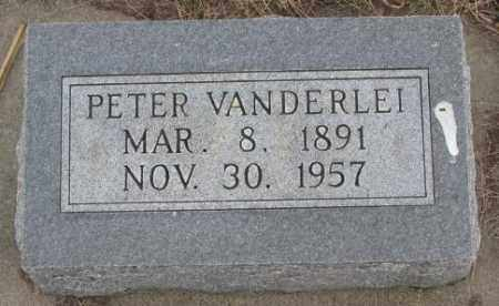 VANDERLEI, PETER - Bon Homme County, South Dakota | PETER VANDERLEI - South Dakota Gravestone Photos
