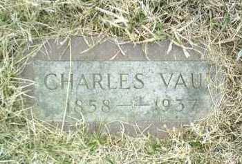 VAUK, CHARLES - Bon Homme County, South Dakota | CHARLES VAUK - South Dakota Gravestone Photos